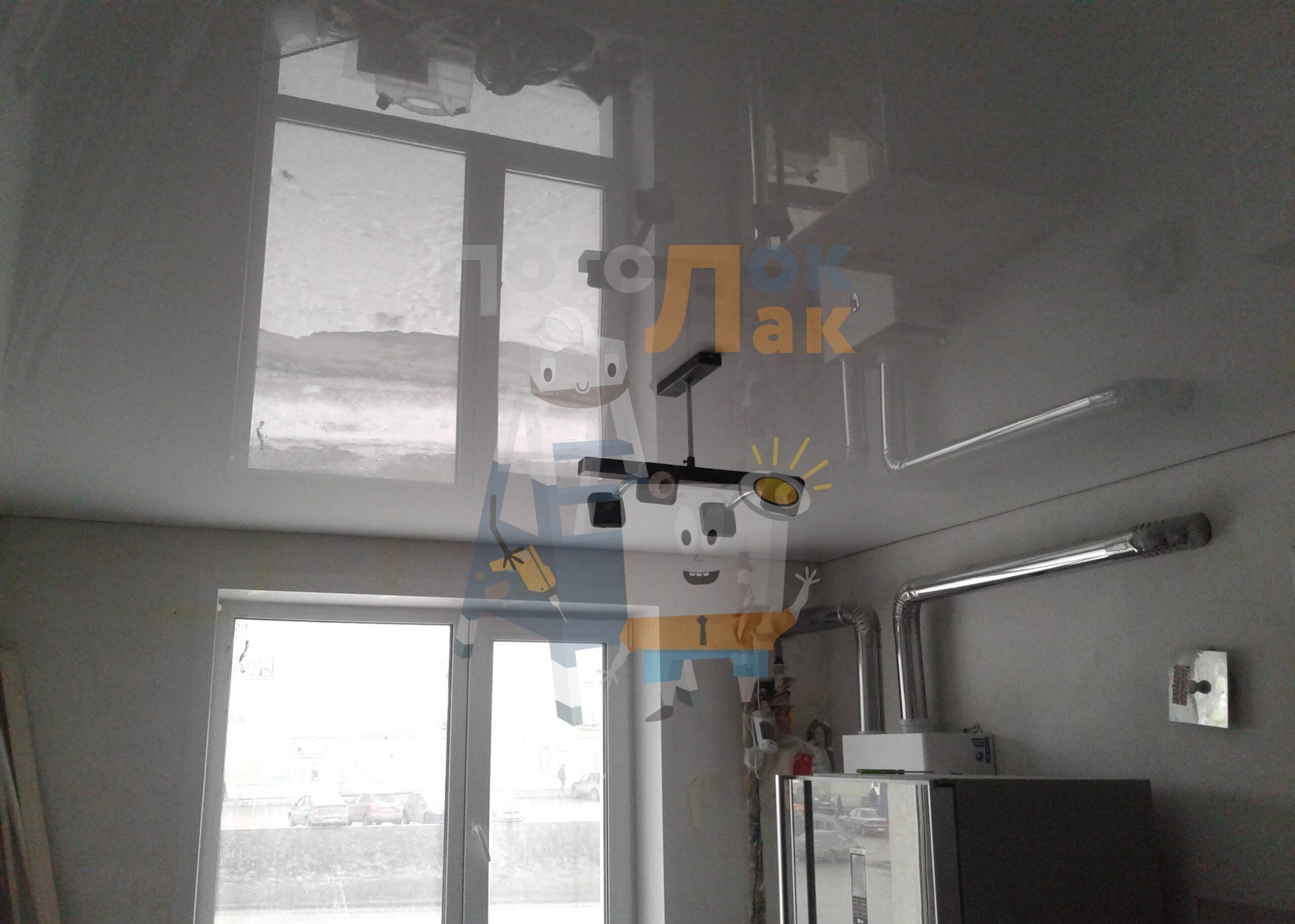 Глянцевые натяжные потолки в Абакане фото 8